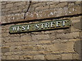 TF2310 : West Street sign by Adrian Cable