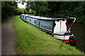 SK4740 : Canal boat Domus by Ian S