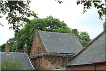 NS4927 : Mauchline Castle by Billy McCrorie