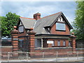 NZ2364 : Lodge to Westgate Hill School, Westgate Road, NE4 by Mike Quinn