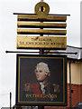 SK4836 : The Admiral Sir John Borlase Warren by Ian S