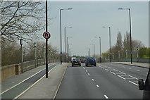 TQ1774 : A316, Twickenham Bridge by N Chadwick