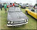 TQ5583 : View of a Triumph Vitesse in Havering Mind's Wings and Wheels event at Damyns Hall Aerodrome by Robert Lamb