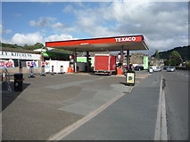 SE0026 : Service station on Burnley Road (A646) by JThomas