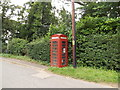 TL9877 : Telephone Box on The Street by Adrian Cable