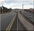 SH8579 : Victoria Avenue above the A55, Colwyn Bay by Jaggery