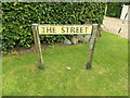TL9877 : The Street sign on The Street by Adrian Cable