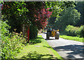 SE9854 : Lane in Southburn by Paul Harrop