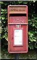 SD9527 : Close up, Elizabeth II postbox on the Long Causeway, Blackshaw Head by JThomas