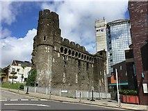 SS6593 : Swansea Castle by Alan Hughes