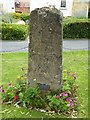 SP0343 : Milestone in Evesham by Philip Halling