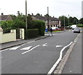 ST3487 : Liswerry Road speed bumps, Alway, Newport by Jaggery