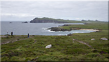 Q3102 : View over Clogher Head by Rossographer