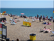 TQ3103 : Brighton Beach by Robin Webster