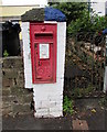 SN1304 : King George V postbox outside Claremont House, Saundersfoot by Jaggery