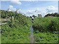SU0396 : Flooded footpath to South Cerney by Vieve Forward