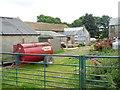 NY4235 : Farmyard at Ellonby Hall by Oliver Dixon