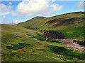 SC4087 : Hillside above Snaefell lead-mine by John Lucas