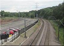 SE2436 : Kirkstall Forge 1st railway station (site), Yorkshire by Nigel Thompson