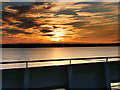 SU4903 : Sunrise over Southampton Water by David Dixon