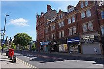 SK3587 : Shops on Pinstone Street, Sheffield by Ian S