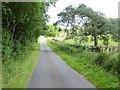 NY4429 : Country road near Greystoke Gill by Oliver Dixon