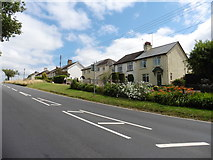 ST0307 : Houses on Honiton Road by Roger Cornfoot