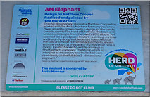 SK3587 : Herd of Sheffield, AM Elephant by Ian S