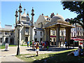 TQ3104 : South Gate, Royal Pavilion grounds, Brighton by Robin Webster