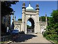 TQ3104 : North Gate, Royal Pavilion Gardens, Brighton by Robin Webster
