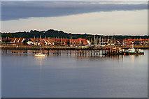 SU4208 : Southampton Water, Hythe Pier by David Dixon