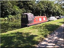 TQ2282 : Cindy Babe, narrowboat on Paddington Branch canal by David Hawgood