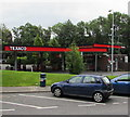 SN5707 : Texaco filling station, Pont Abraham by Jaggery