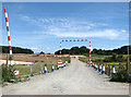 TG1515 : Works access to the Northern Distributor Road under construction by Evelyn Simak