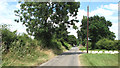 TG1616 : Approach to Reepham Road on Furze Lane by Evelyn Simak
