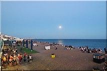 TQ3103 : Night Swimming, Brighton Beach by Matt Harrop