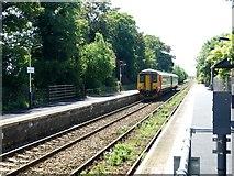 SK6443 : Burton Joyce railway station by Graham Hogg