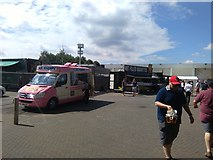 SJ8195 : Mr Whippy at Emirates Old Trafford by Richard Hoare