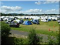 SO8540 : Campers and caravaners at the Upton Blues Festival by Philip Halling