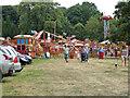 SU8394 : West Wycombe - Carter's Steam Fair by Chris Allen