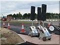 SU4886 : Traffic Lights on The Path by Bill Nicholls