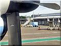 SU4416 : Southampton Airport Arrival Gates by David Dixon