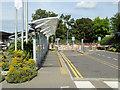 SU4417 : Spitfire Loop, Southampton Airport by David Dixon