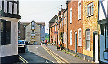 SO8832 : Tewkesbury 1995: Mill Street from Church Street by Ben Brooksbank