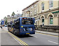SO2800 : X24 Stagecoach Gold bus in Pontypool town centre by Jaggery