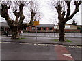 SO8005 : School Keep Clear Zone, Elm Road, Stonehouse by Jaggery