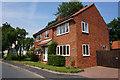 SE7925 : Magnolia House on Back Street, Laxton by Ian S