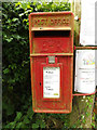 TM0080 : Smallworth Postbox by Adrian Cable
