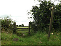 TM0080 : Fen Lane footpath to Smallworth by Adrian Cable