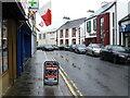 H4472 : Wet along John Street, Omagh by Kenneth  Allen